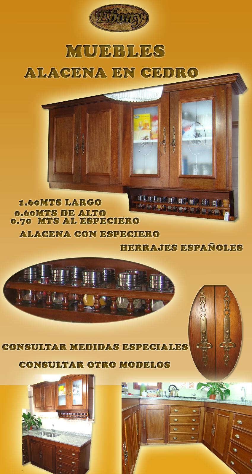 Alacena En Cedro  5224337  disponible en SANTA FE